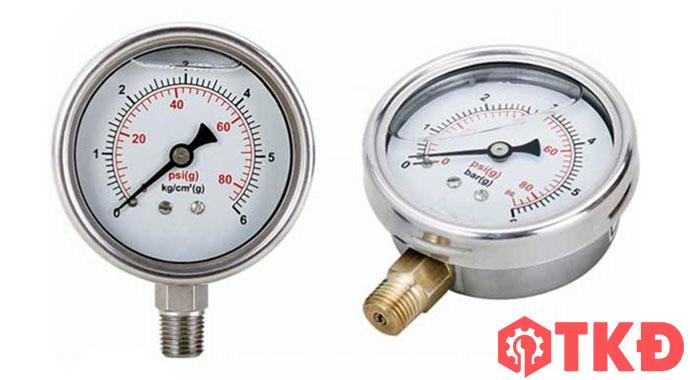 đồng hồ đo áp lực chân trước
