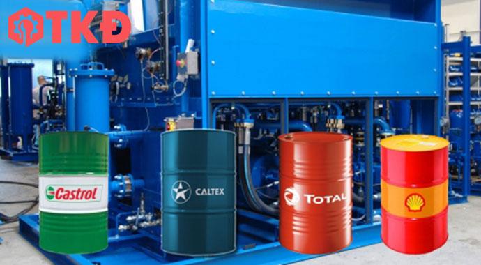 các loại dầu thủy lực